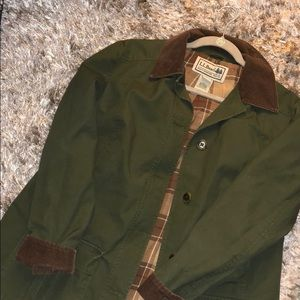 L.L. Bean Army Green Adirondack Barn Jacket
